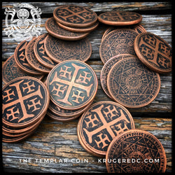 The Templar worry coin - preorders for batch 2