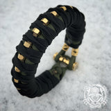 Katana Wrap and steel bar bracelets