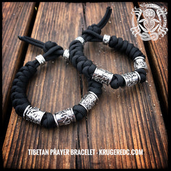 The Tibetan prayer bracelet.
