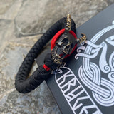 Sliding Knot Demon (silver and brass)