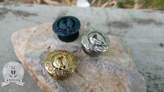 Hugin and Munin button bead