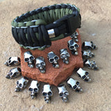 Chain stitched king cobra paracord bracelet