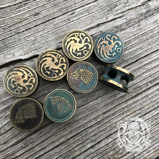 Handmade Game of Thrones button beads