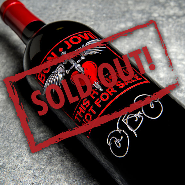 This House Is Not For Sale - Signature Edition Etched Wine