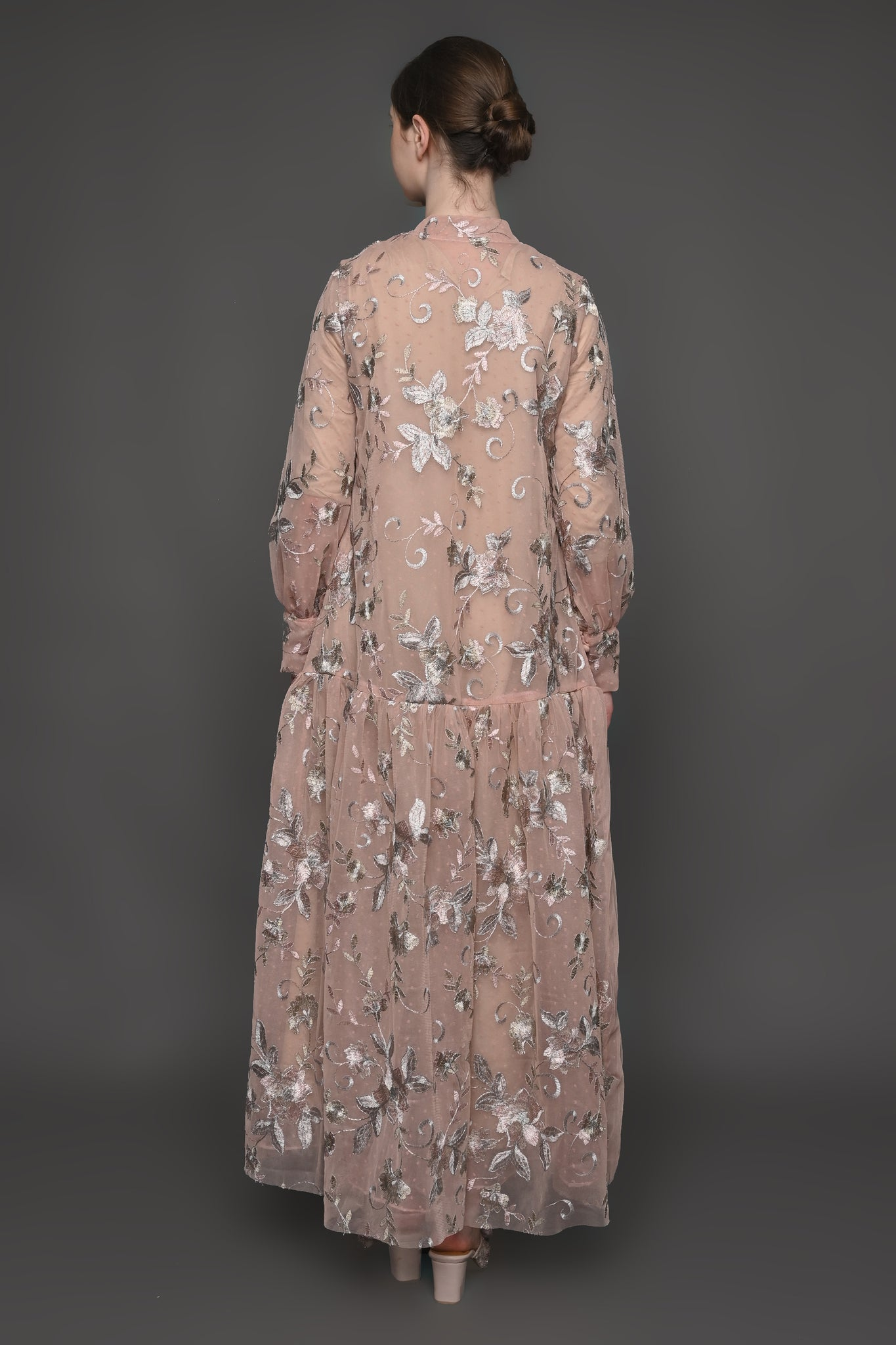 Hamidah x Barli Asmara - Chandani Dress Beige