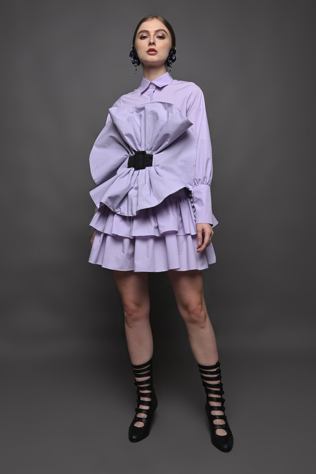 Camelia Shirt in Lilac
