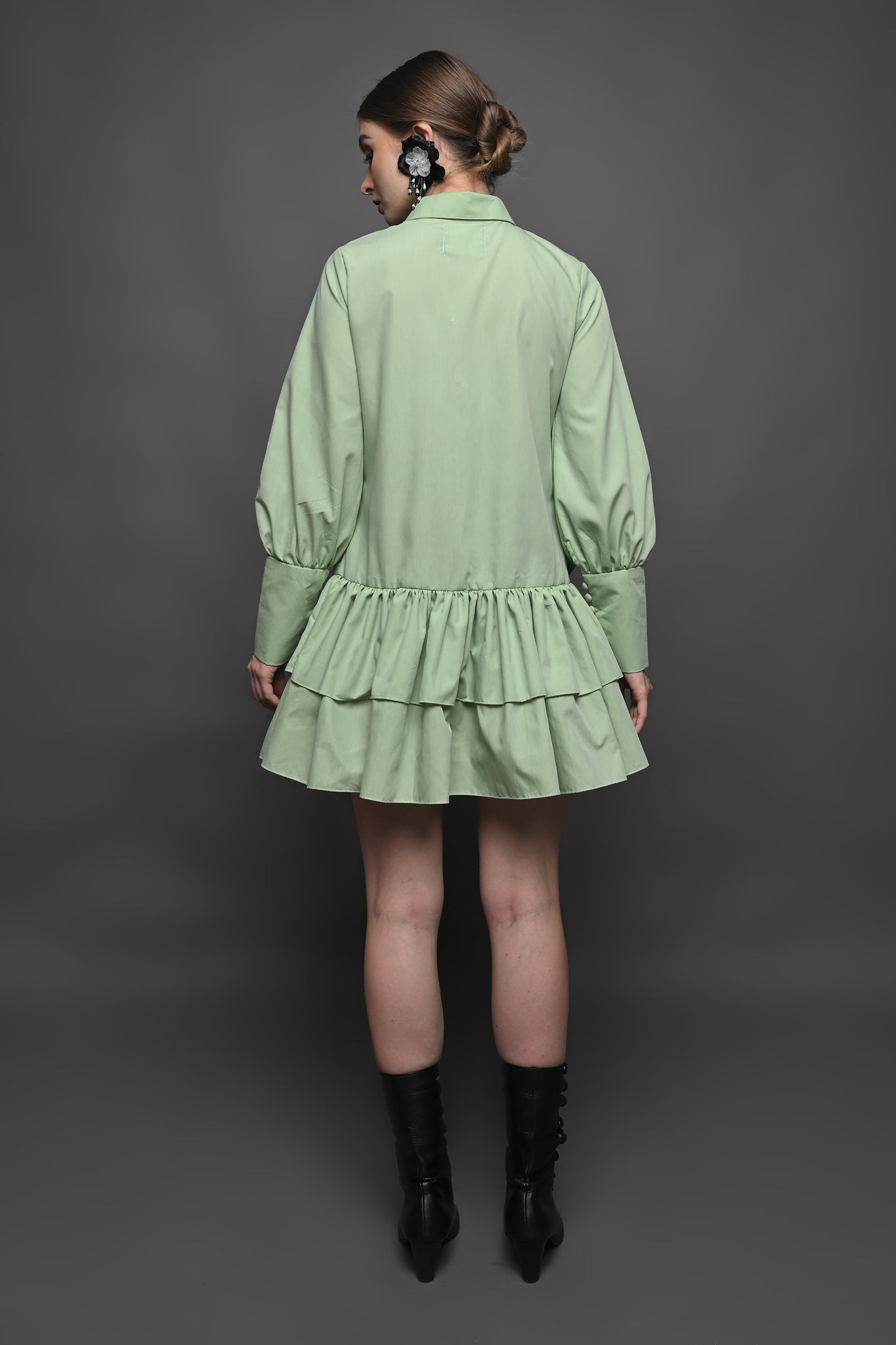 Camelia Shirt in Green