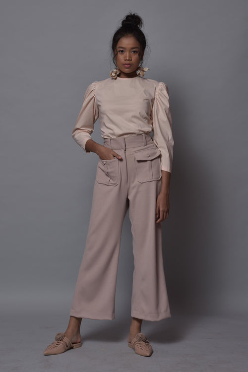 Peach Joceline Top - Pre-Order - Delivery 31 January 2019