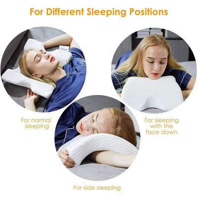 Side Sleeper Pillows for Neck and Shoulder Pain
