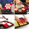 The Pancake Flipper and Waffle Mold Set