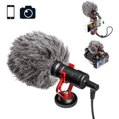Smartphone Video Kit with Grip Rig, Stereo Microphone & LED Light