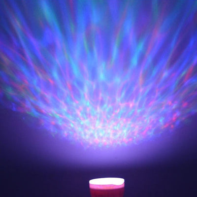 Ocean Projector Night Light with Built-In-Speaker