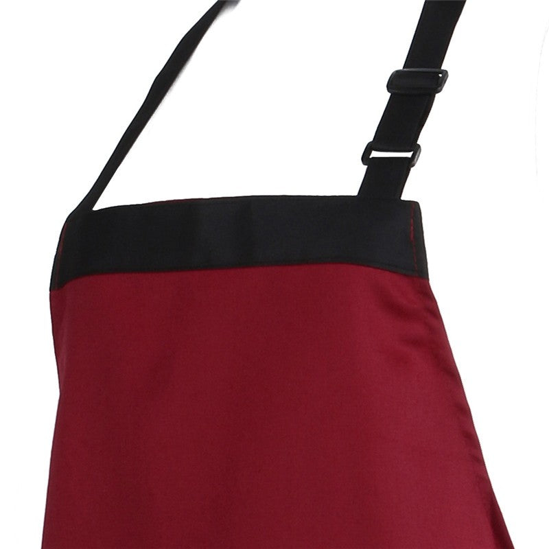 Unisex Halterneck Cooking Apron with 2 Pockets