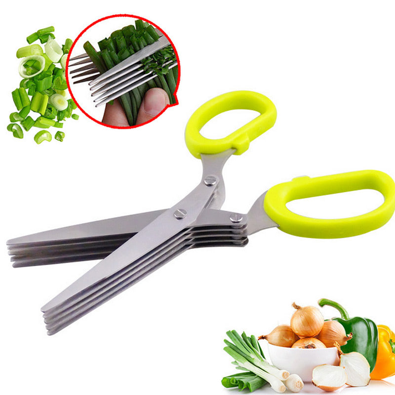 Stainless Steel Herb Scissors