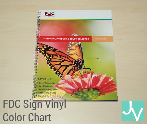 JamakVinyl - FDC FDC Lumina Sign Vinyl Color Chart