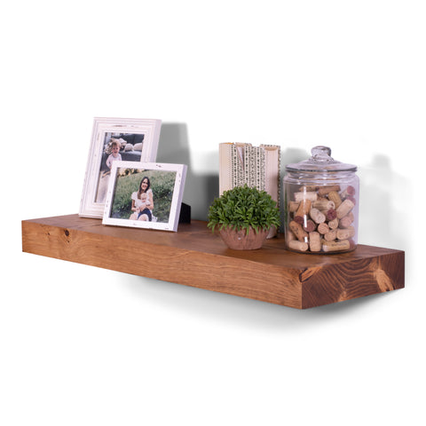 Chunky White Pine Shelves
