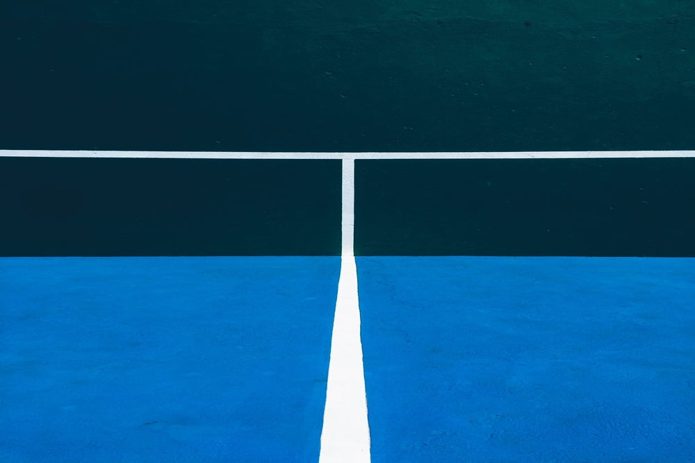 Tennis Court Practice Wall