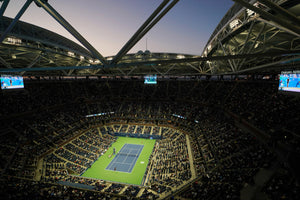 Birds eye view of Arthur Ash Stadium at the US Open