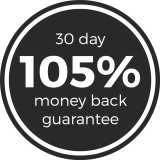 Epirus offers a 30 day, 105% money back guarantee