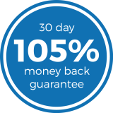 Epirus 30 day 105% money back guarantee