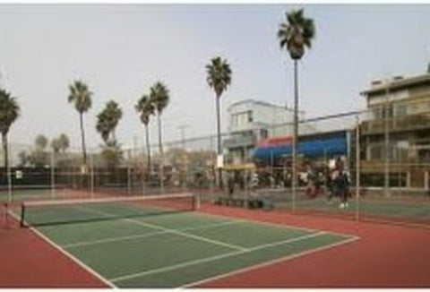 Paddle tennis court in LA
