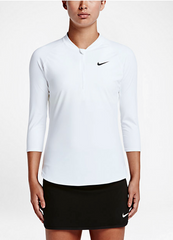 Nike Court Pure half zip tennis top
