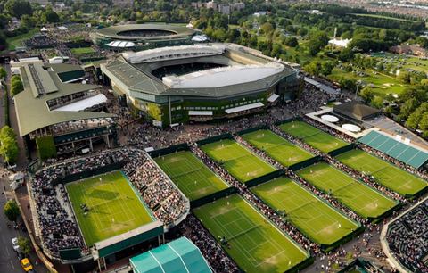 Wimbledon aka The All England Lawn Tennis Club recommended by Epirus