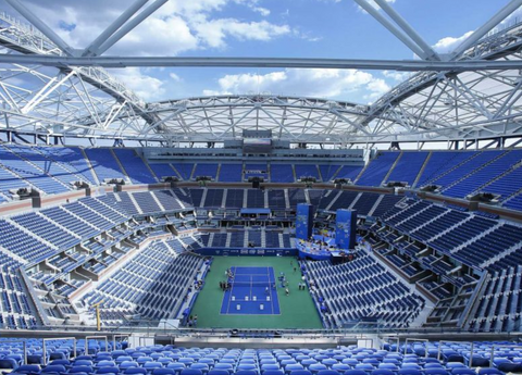 Arthur Ashe tennis court at The US Open - Epirus travel guide