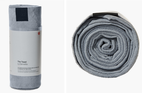 Lululemon sports towel recommended by Epirus