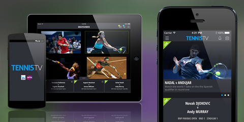 Tennis TV subscription