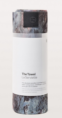 Lululemon Travel Towel - Featured in the Epirus guide to travel accessories