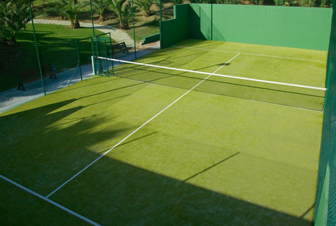 Picture of outdoor padel court