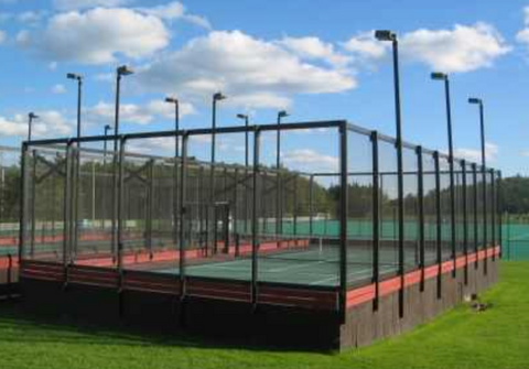 Epirus guide to padel, platform and paddle tennis: platform tennis court