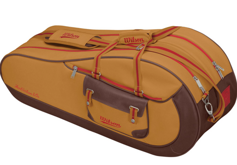 Wilson special edition brown leather tennis bag