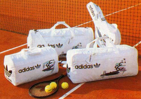 Adidas vintage Stefan Edberg tennis bag collection