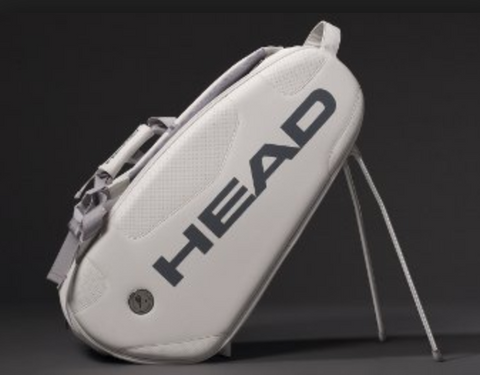 Large upright Head tennis bag with golf stand