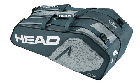 Head angular shaped tennis racket bag