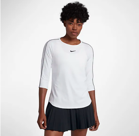 Nike Tennis 3/4 Sleeve Top