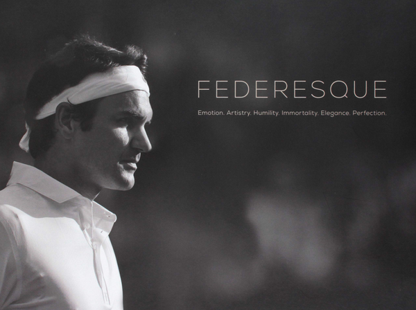 Federeresque Coffee Table Book