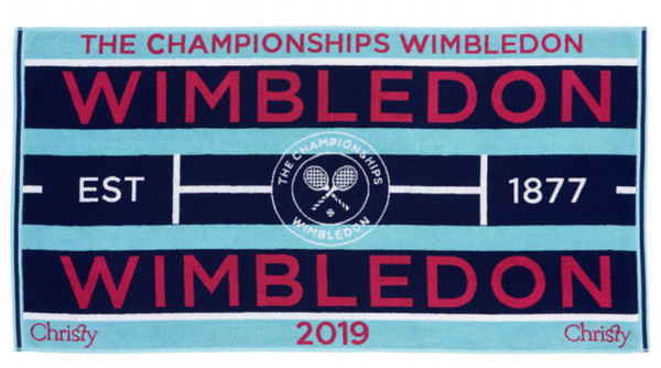 Personalised Wimbledon Towel
