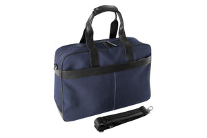 Epirus 24 hour tennis bag in blue with shoulder strap
