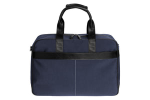 Epirus 24 hour tennis bag in blue front view