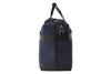 Epirus medium weekend bag in blue side view