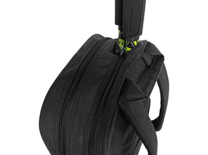 Epirus Borderless Backpack Black Tennis Bag Rear Side View