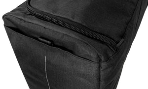 Epirus Dynamic Duffel Black Tennis Bag Up Close View