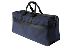 Epirus large weekend bag in blue rear side view