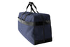 Epirus large weekend bag in blue front side view