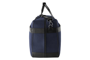 Epirus large weekend bag in blue side view