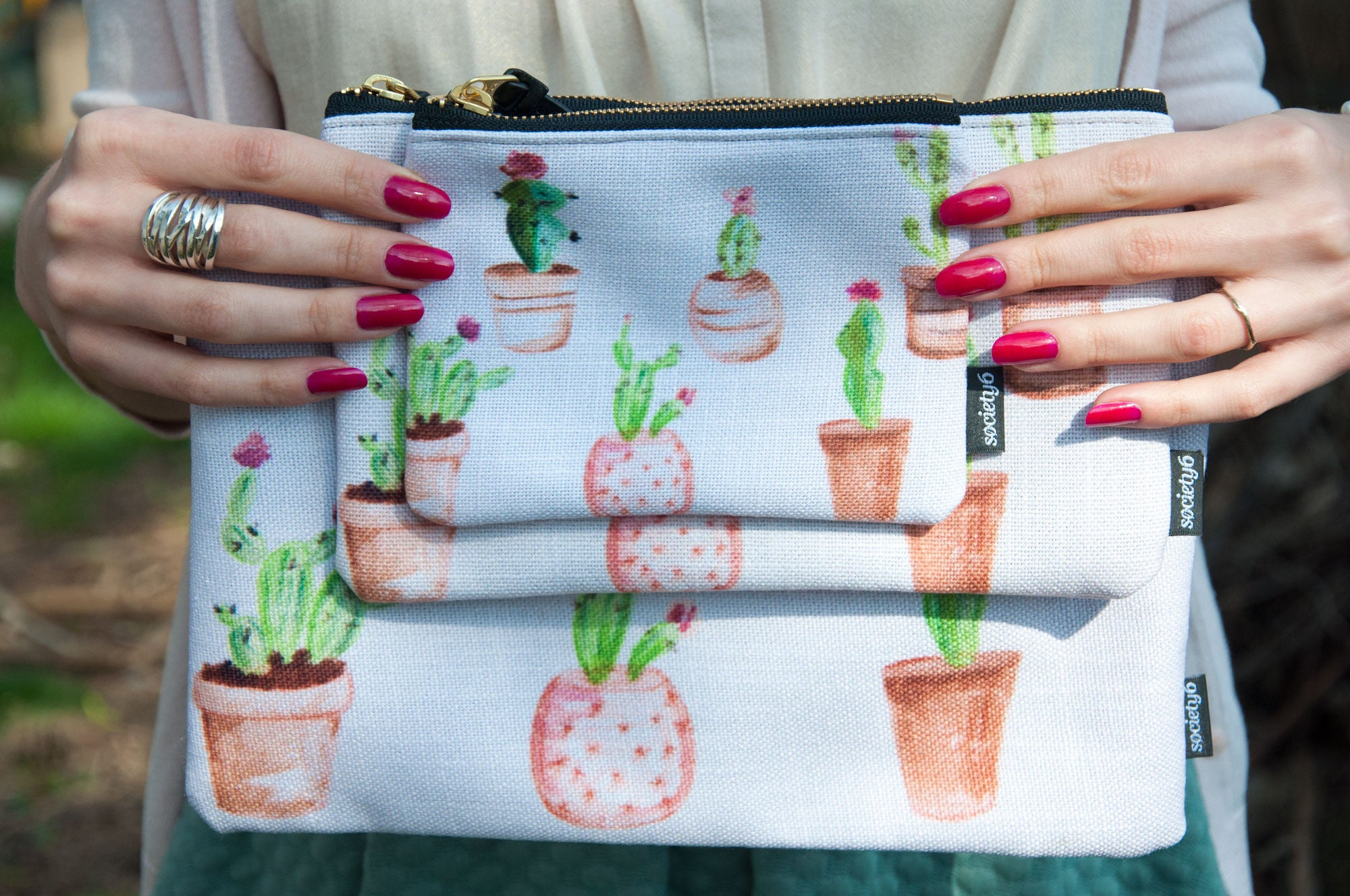 Cacti Pouch *Pre Order Only*