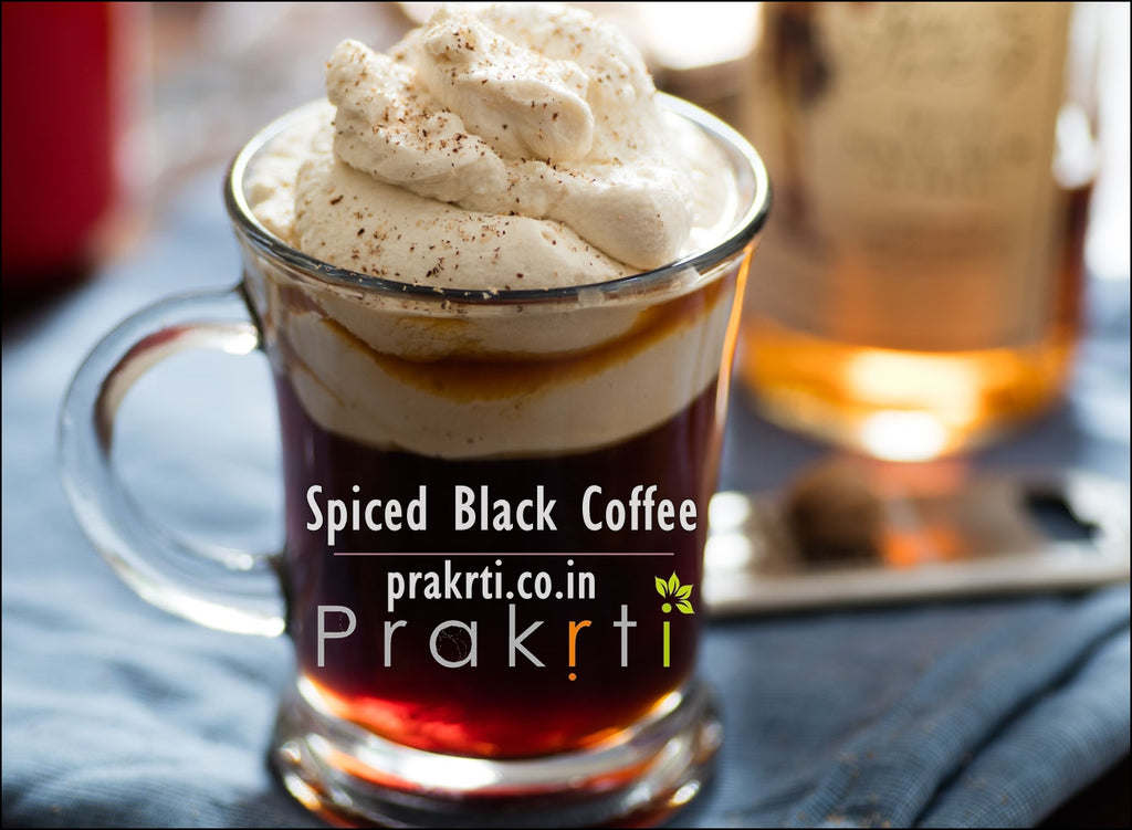 Spiced Black Coffee